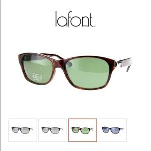 Lafont Luigi Tortoise Shell Sunglasses Gently Used